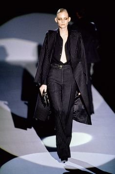 Gucci Fall 1996 Ready-to-Wear Fashion Show - Amy Wesson