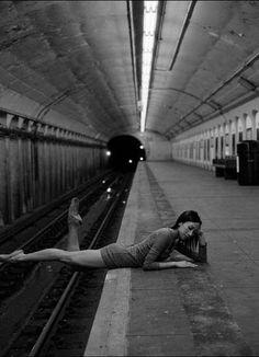 Dane Shitagi - subway ballerina