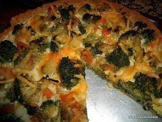Las recetas de Karoleta y compañía: Quiche de brocoli y queso de cabra