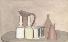 Title   Natura morta  Medium   oil on canvas  Size   13 x 20.7 in. / 33 x 52.5 cm.  Year   1946 -