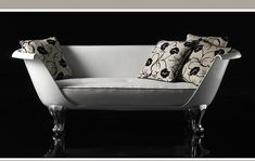"""clawfoot tub into couch   Remember the clawfoot bathtub / sofa from """"Breakfast at Tiffany's ..."""