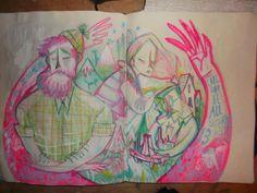 Really wasn't kidding about bombarding you with drawings. http://karljamesmountford.tumblr.com