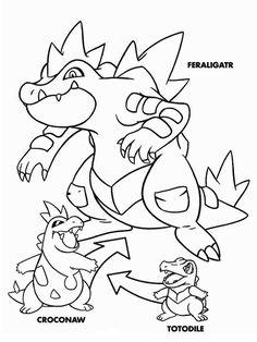 Desenhos para pintar Pokemon 19