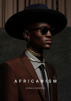 Ozwald Boateng Africanism 2018 Campaign (Various Campaigns) Studio Portrait Photography, Photography Poses For Men, Fashion Photography Inspiration, Photography Editing, Studio Portraits, Willie Jones, Ozwald Boateng, Afro Men, Urban Fashion