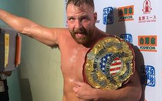 New Japan Pro Wrestling has confirmed that Jon Moxley has been stripped as IWGP United States Champion, with travel issues stemming from Typhoon Hagibis Vince Mcmahon, Wrestling Videos, Wrestling News, Cincinnati, Wrestle Kingdom, The Shield Wwe, Ohio, Japan Pro Wrestling