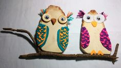 Wooden Owl Plaque - M.Y. Craft Planet