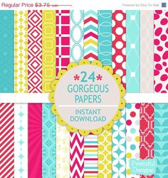 New Paper Pack - Gorgeous