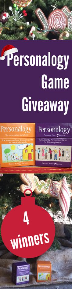 Enter to win Personalogy Game Giveaway ad Best family game! (ends 12/18/15)