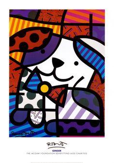 Official Website for World Renowned Pop Artist Romero Britto Arte Pop, Pop Art, Arte Country, Graffiti Painting, Ecole Art, Arts Ed, Art Graphique, Art Plastique, Animal Paintings