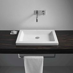 Designed by Sieger Design, this angular 2nd Floor washbowl has a ground underside in order to sit directly on furniture, and would be ideal for a contemporary bathroom. It does not include a tap platform, and we recommend a freeflow waste in the absence of an overflow. This washbowl measures 580mm by 415mm. The 2nd Floor collection specialises in warm, wood elements that provide a striking contrast with the clean white finish of the ceramic and acrylic sanitaryware. This stylish…