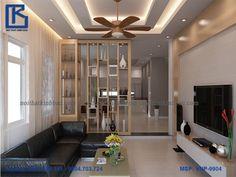 Mẫu vách ngăn phòng khách đẹp VNP-9904 vừa đóng vai trò là một chiếc vách ngăn phân chưa không gian vừa là một sản phẩm trang trí nội thất hoàn hảo