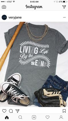 Love this graphic T. Life and baseball! - Life Shirts - Ideas of Life Shirts - Love this graphic T. Life and baseball! Baseball Mom Shirts, Baseball Boys, Sports Shirts, Cute Shirts, Baseball Stuff, Baseball Clothes, Softball Stuff, Baseball Party, Baseball Cleats