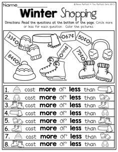 Christmas Money Worksheet