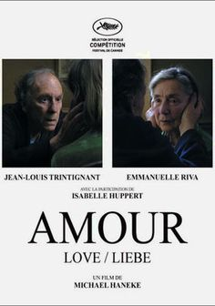 Michael Haneke's Amour which won Palme d'Or at this year's Cannes Film Festival, finally has the USA release date! Isabelle Huppert, Trailer Film, Movie Trailers, Band Posters, Film Posters, Love Movie, Movie Tv, Laurence Anyways, Movies