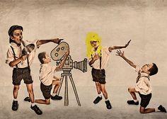 Taller donde los niños aprenden a hacer un cortometraje y lo realizan. Sábados de un mes.