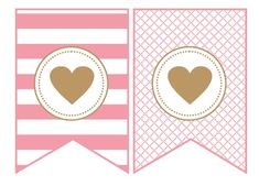 Resultado de imagen para moldes de banderines para baby shower