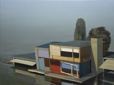 Ulf Puder, 'Ferienhaus nahe am See (Andreas Achenbach),' 2015, AKINCI
