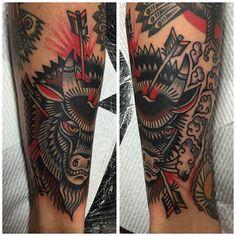 Buffalo Tattoo by Will Duncan #Buffalo #BuffaloTattoo #Bison…
