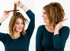 This Is the 1 Trick You Need to Make Every Hairstyle Look Better via Brit + Co Heatless Hairstyles, Hairstyles With Bangs, Straight Hairstyles, Rat Tail Comb, Back Combing, Voluminous Hair, Hairstyle Look, Personal Hygiene, Great Hair