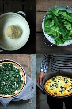 hogyan készítsünk otthon quiche-t? Quiche, Dim Sum, Palak Paneer, Ethnic Recipes, Food, Essen, Quiches, Meals, Yemek