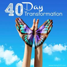 Need a change in your life? Take this journey with me to your 40 day transformation. A little goes along the way, and in time, you'll find your purpose.