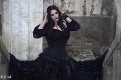 #goth  #gothic  #nekromancica #ruin #gothicgirl