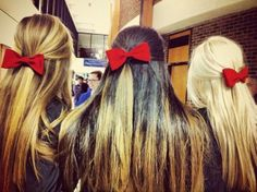 bows on bows on bows
