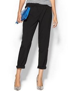 Tinley Road Lace Inset Soft Pant via @stylelist \ http://aol.it/1A7ICKS