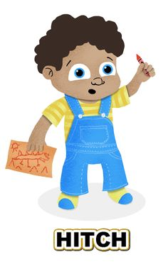 Introducting Hitch! Keep an eye out for our customizable learning app Children Story Time, coming soon!   creativestyles.co