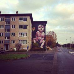 Graffiti  Luchtbal - Antwerpen