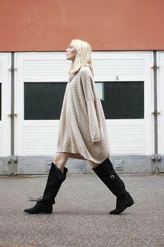 Oversize knit - Josefin Dahlberg