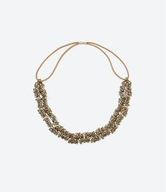 Image 1 of HEADBAND DECORATED WITH STONES from Zara