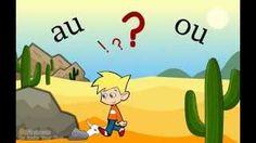 Ou of au Word Study, Word Work, Learning Through Play, Kids Learning, Ou Words, Learn Dutch, 2nd Grade Ela, Phonics, Homeschool