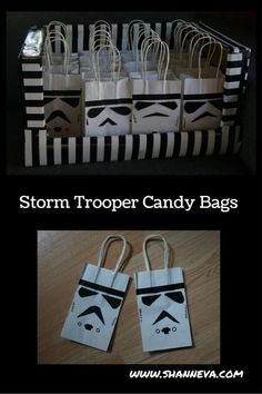 Star Wars Inspired Party Favors