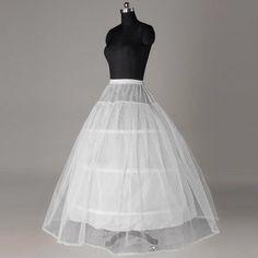 L'arrivée de nouveaux Petticoat pour robe de mariée excellente livraison taille jupe longue jupe 4 Hoops Crinoline jupon jupon dans Jupons de Mariages et événements sur AliExpress.com | Alibaba Group