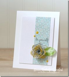 be yourself by Kimberly Crawford with She Art Pink Paislee