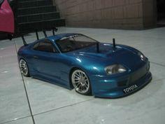 TT01 Tamiya Chassis with HRU Toyota Supra bodyshell