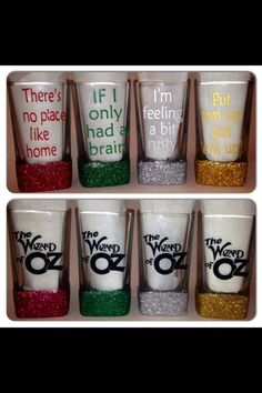Hey, I found this really awesome Etsy listing at https://www.etsy.com/listing/198667974/the-wizard-of-oz-shot-glasses