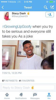 #growingupgoofy