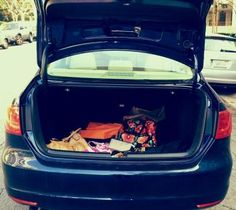 Repin if your trunk is your 2nd closet!
