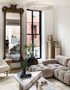 Bedroom Decor For Couples, Parisian Chic Decor, Interior Design, House Interior, Bathroom Decor Luxury, Living Room Decor, Home, Classy Rooms, Living Room Designs