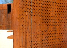 Hungary's Szathmáry Palace Ruins Renovated With L-Shaped Corten Steel Lookout Szatmary Palace by MARP – Inhabitat - Green Design, Innovation, Architecture, Green Building