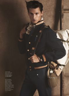 """Mathias Bergh at Ford, Models 1, Wilhelmina & Why Not in """"The Passenger"""" by Giampaolo Sgura for Out magazine. www.giampaolosgura.com"""