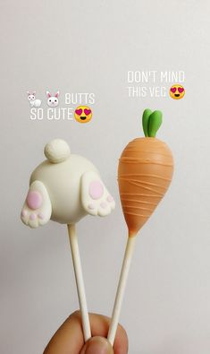 Cakesicle Cuties – Bunny butts & Carrots, for Easter by Sweet Endings by Lulu Cakesicle Cuties – Bunny Butts & Carrots, zu Ostern von Sweet Endings by Lulu Easter Egg Cake Pops, Easter Bunny Cake, Bunny Birthday, Easter Cupcakes, Easter Cookies, Easter Treats, Bunny Cakes, Oreo Pops, Magnum Paleta