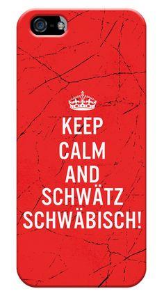 KEEP CALM SCHWAETZ-SCHWABTASTISCH - Handyhüllen & iPad cases bei Stylecover
