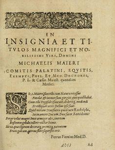 LEXICON MAGAZINE - Symbola aureae mensae duodecim nationum - 1617