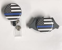 Excited to share the latest addition to my #etsy shop: Thin blue line Littman stethoscope ID tag and retractable badge reel ID holder/ nurse gird https://etsy.me/2DVg5Py #accessories #policewifegifts #policewifebadge #policeidholder #thinbluelinebadge #3mlittmannidtag