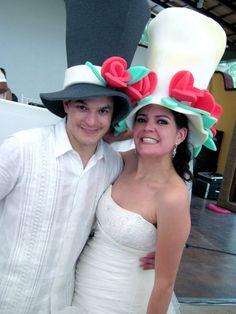 wedding hats jajaja