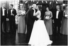 Bride and Father Dance || Daddy Daughter Dance || Wedding Reception || Memphis Zoo || Christen Jones Photography