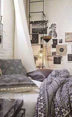 gypsy bedroom design idea